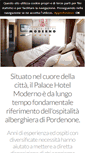 Mobile Preview of hotelpordenone.biz
