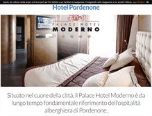 Tablet Preview of hotelpordenone.biz